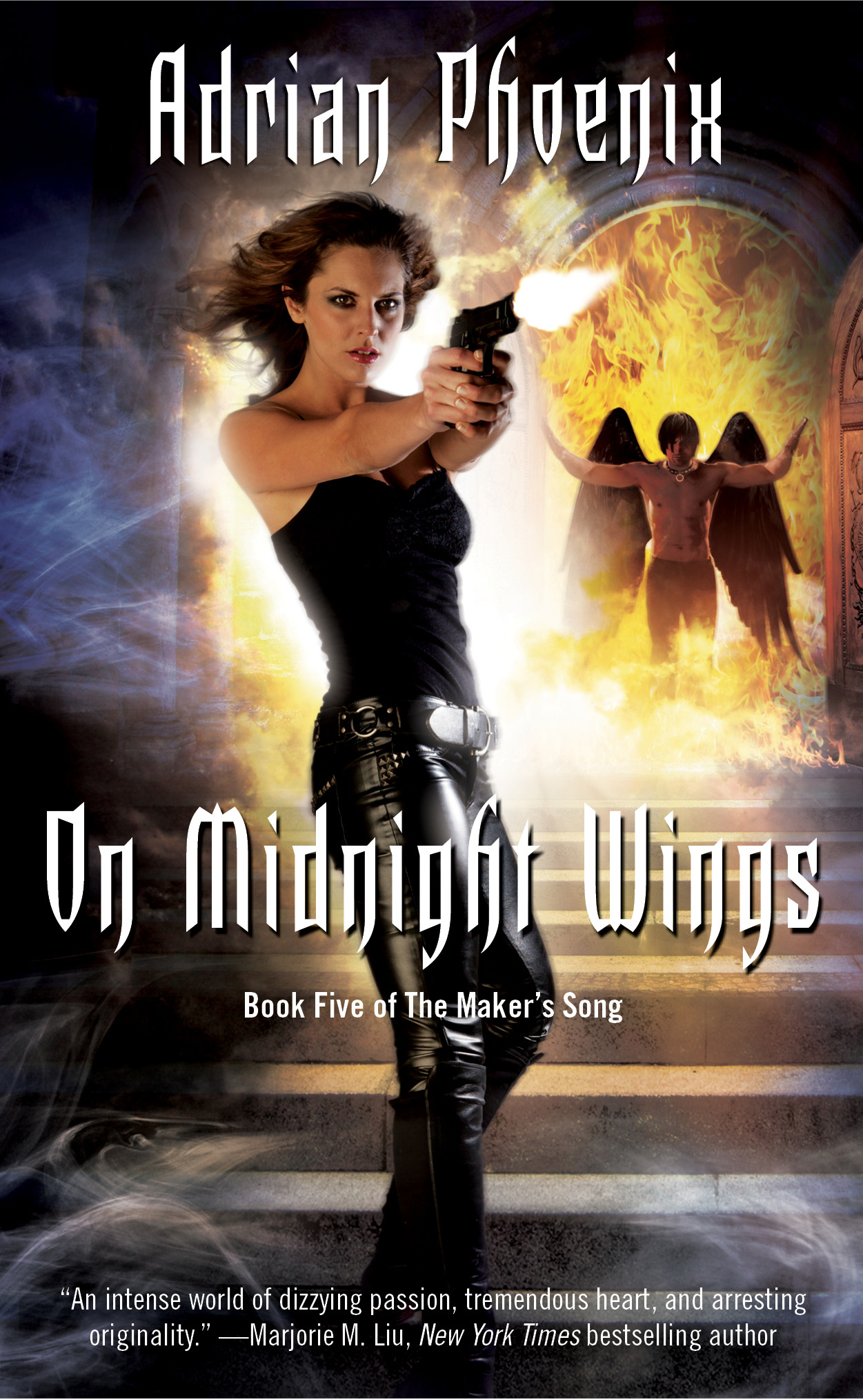 On Midnight Wings by Adrian Phoenix
